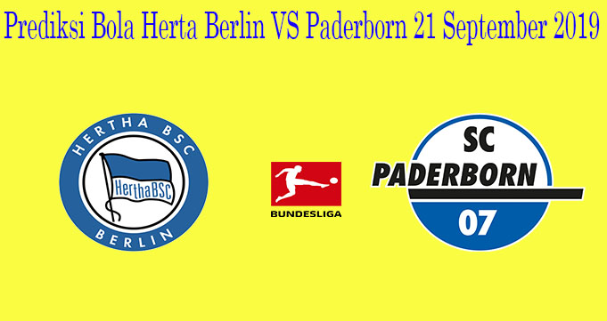 Prediksi Bola Herta Berlin VS Paderborn 21 September 2019